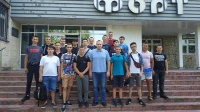Екскурсія на державне науково-виробниче об'єднання «Форт» МВС України