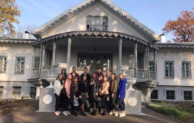 Екскурсія зі студентами технологічного відділення ТПК ВНАУу Національний музей-садибу Миколи Івановича Пирогова
