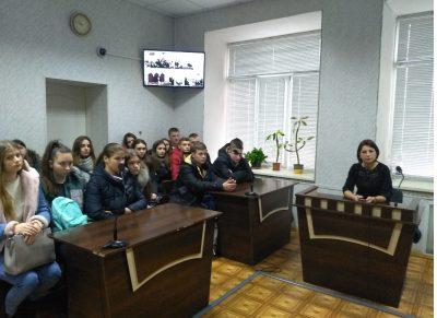 «День відкритих дверей» у Вінницькому районному суді