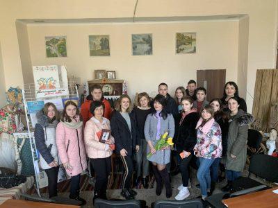 Творча зустріч студентів коледжу з поетесою Анною Кіссо