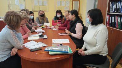 Засідання організаційно-методичної комісії ВСП ТПФК ВНАУ